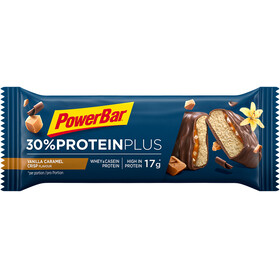 PowerBar Protein Plus 30% Riegel Box Caramel Vanilla Crisp 15 x 55g